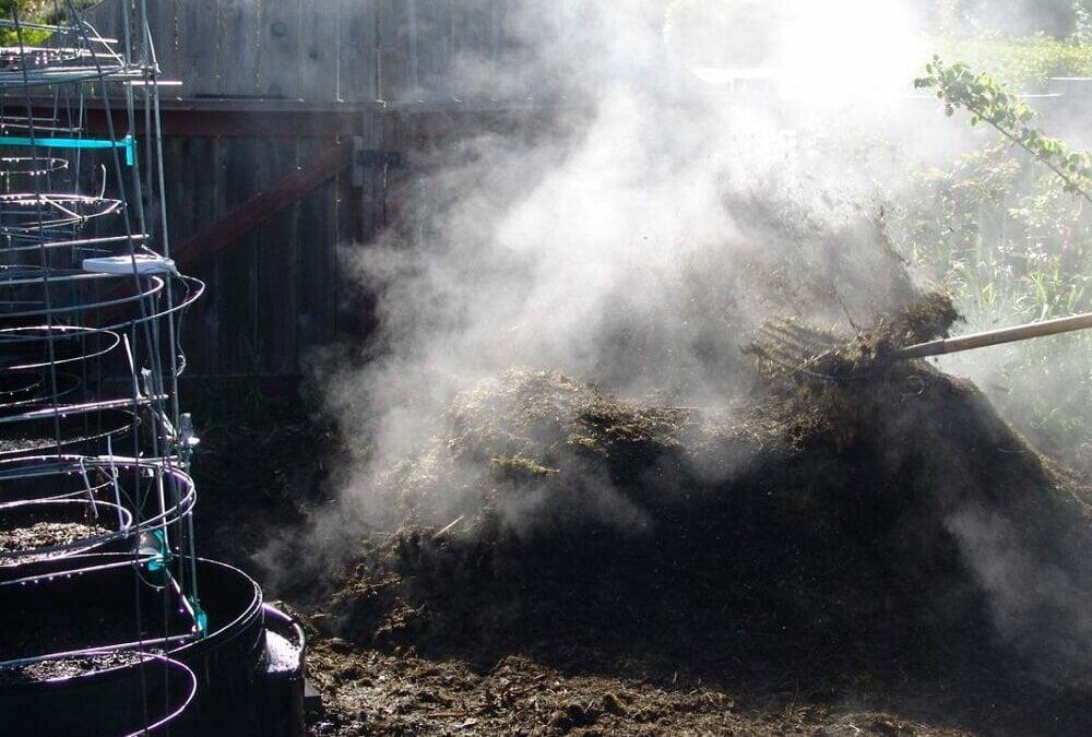 Schnelle Kompostierungsmethode