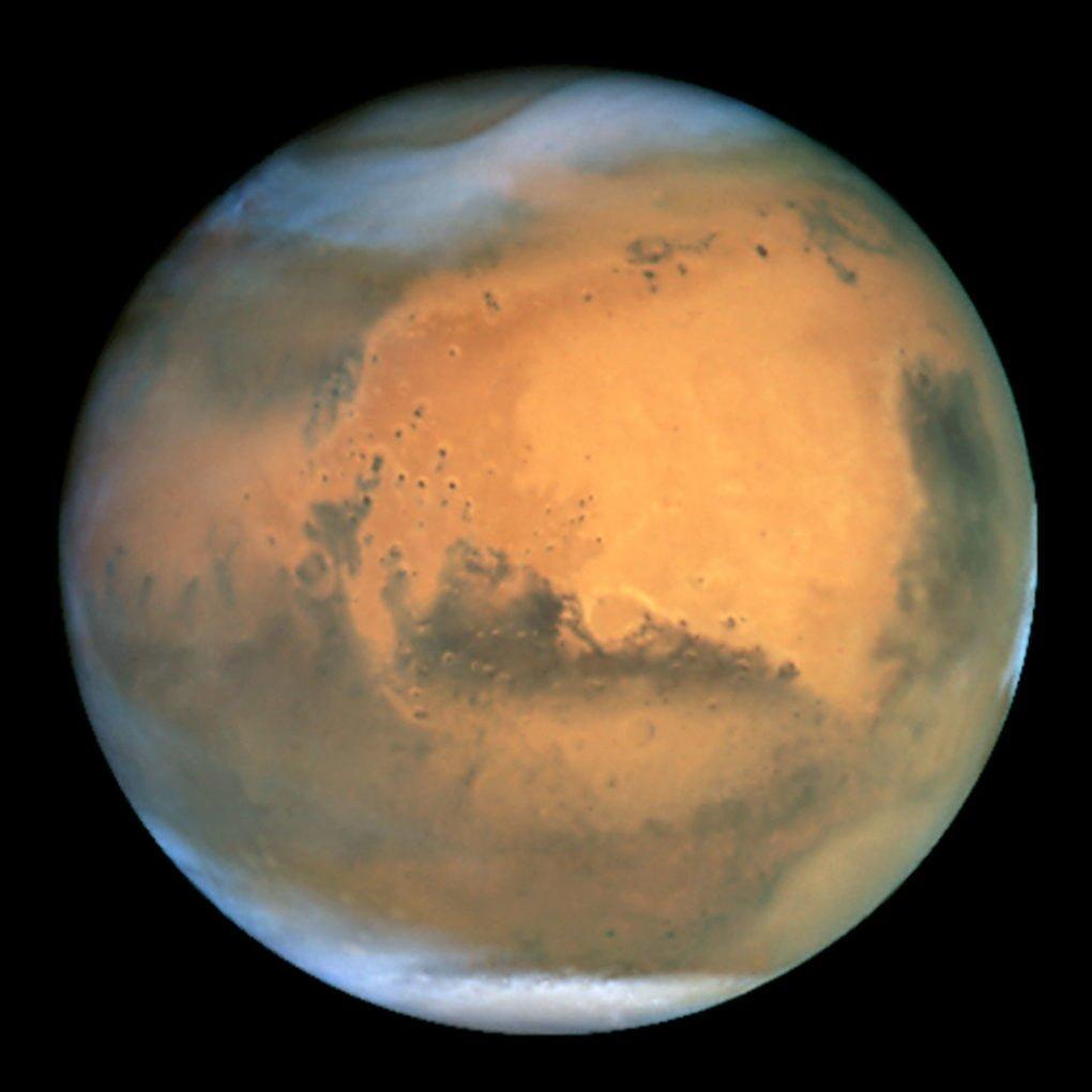 Planeta Mars (zdroj: nasa.gov)