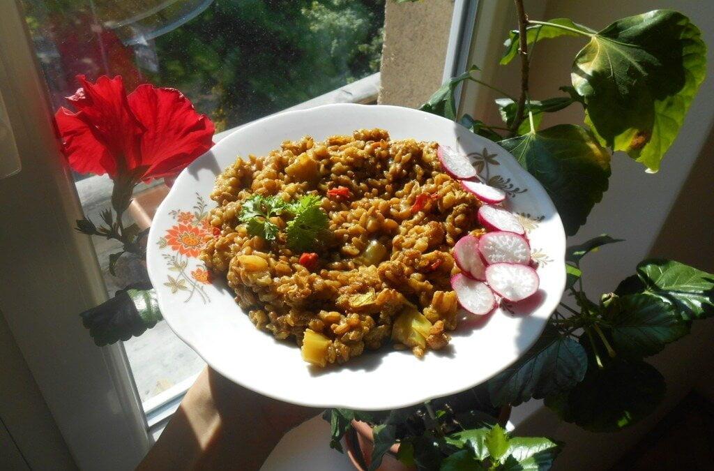 Žitné rizoto:chutná alternativa klasického rizota