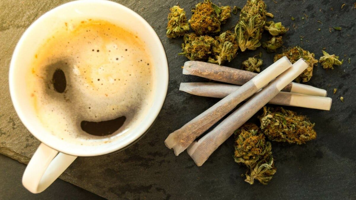Coffee and cannabis - unexpected partners