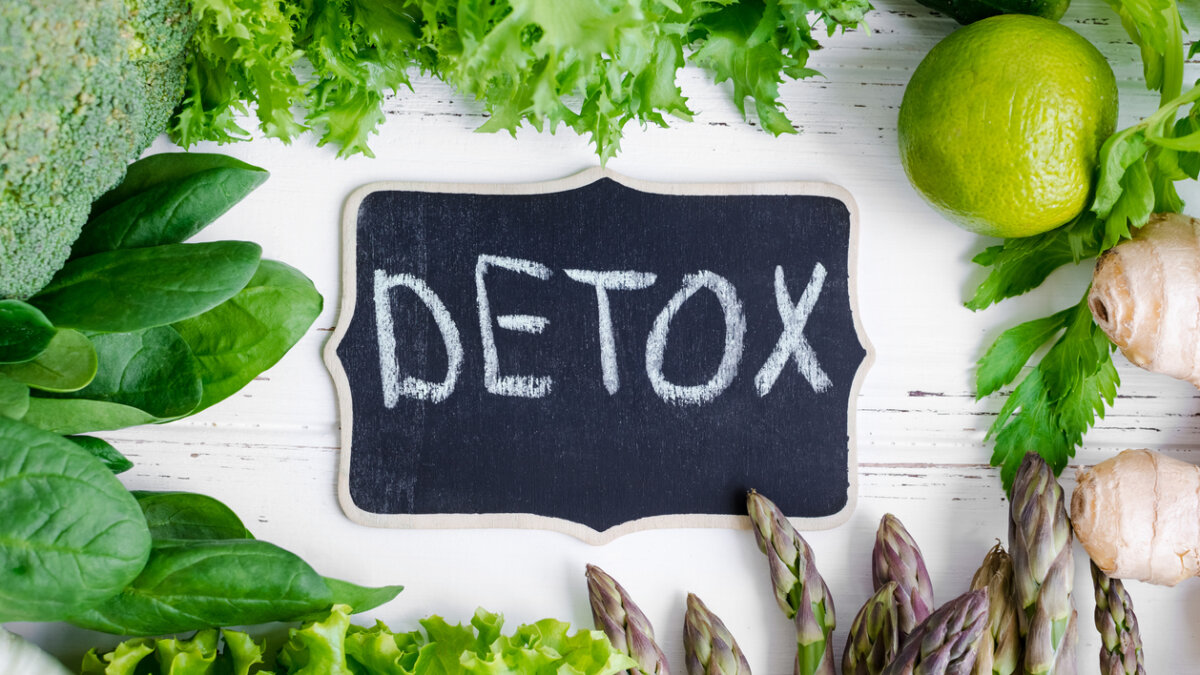 Spring detox organism - start again and differently