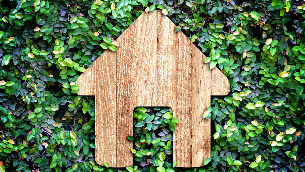 Ökologisch nachhaltiges Wohnen - ein Müllhaus