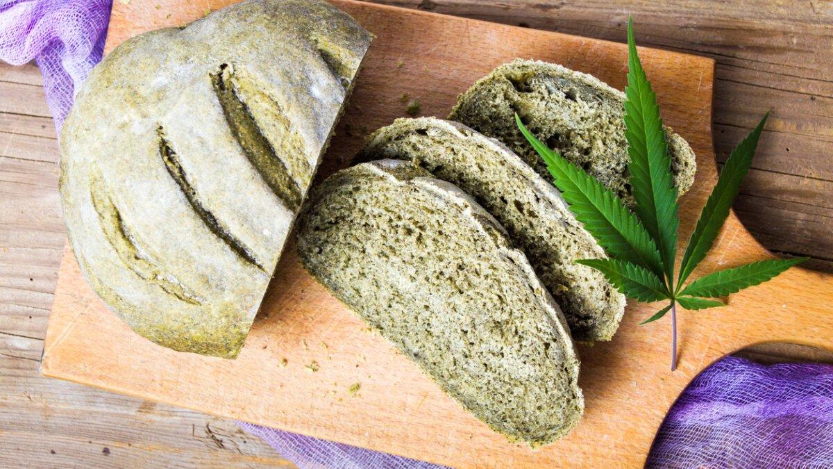 Rychlý konopný chléb