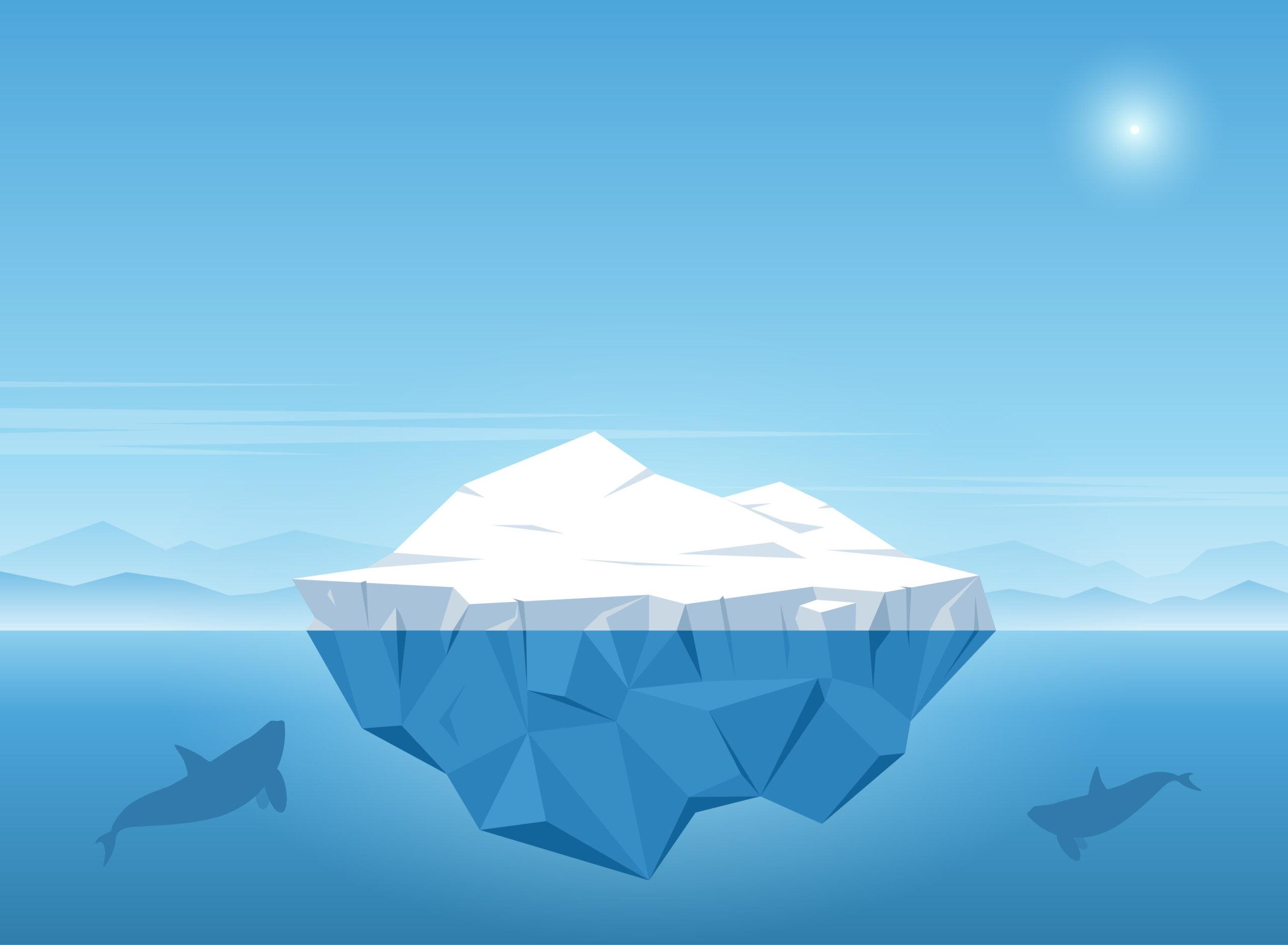 Z grónského ledovce Spalte se stala historie
