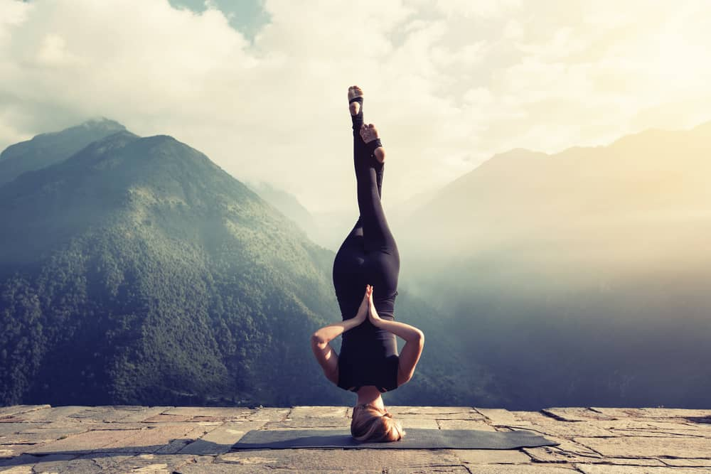 Jóga pro lepší rovnováhu